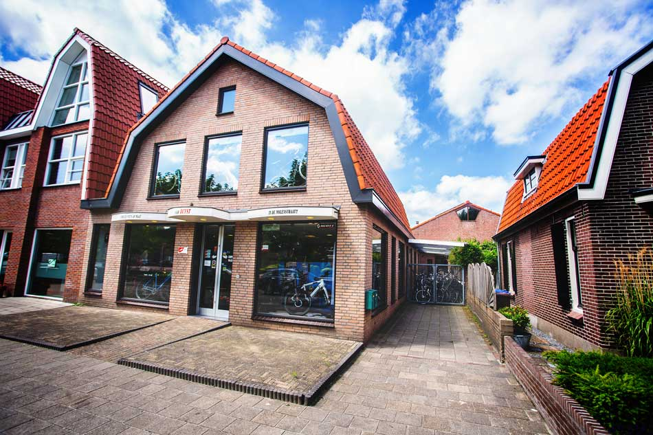 Showroom Rijwielhandel Duyst Spakenburg